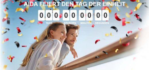 AIDA feiert den Tag der deutschen Einheit 2017