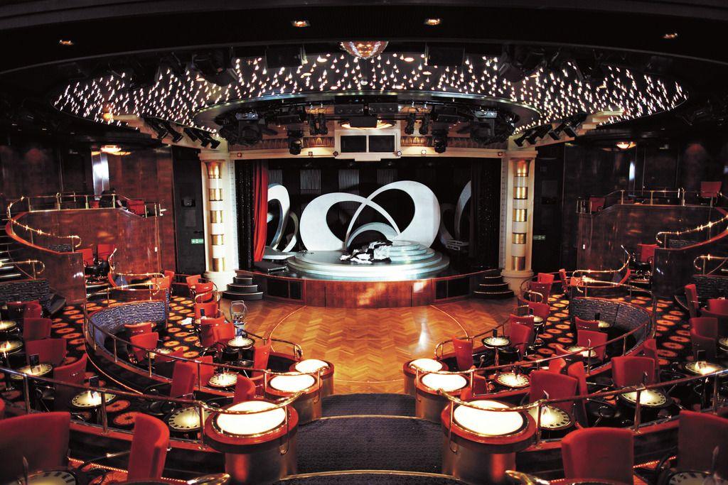 Die Show Lounge auf der Kreuzfahrtfähre Color Fantasy