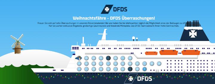 DFDS Adventskalender 2018