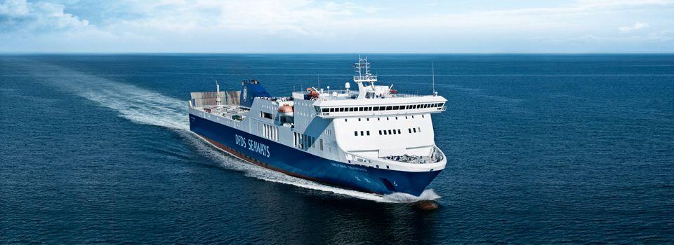 Die DFDS Fähre Victoria Seaways