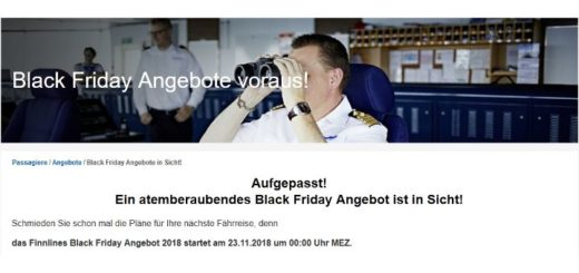 Finnlines Black Friday 2018