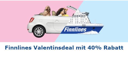 Finnlines Valentinsdeal - 40% Rabatt auf Fähren