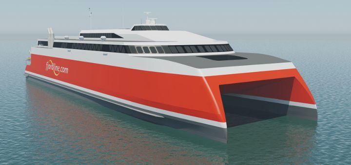 neue Fjord Line Fähre ab 2020
