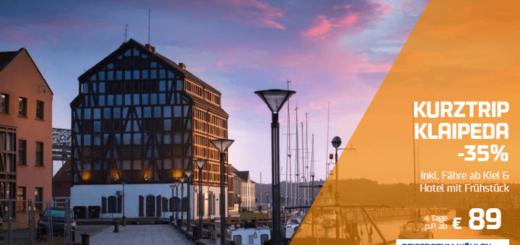 DFDS Kurztrip nach Klaipeda ab 89€ pro Person