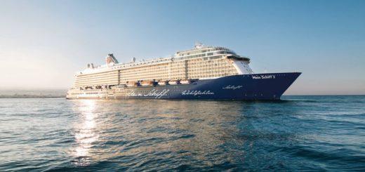 Die Mein Schiff 3 von TUI Cruises auf der Ostsee