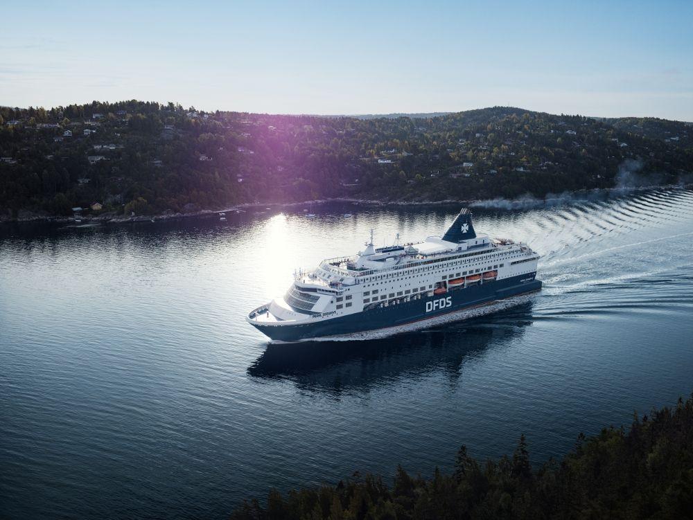 Passage des Oslofjords mit der DFDS Pearl Seaways auf der Minikreuzfahrt Kopenhagen Oslo