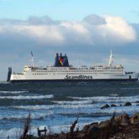 Die Scandlines Fähre Kronprins Frederik verlässt die FAYARD-Werft im Dezember 2017