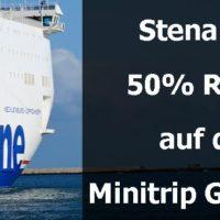 Stena Line bietet zur Kieler Woche 50% Rabatt auf den Minitrip Göteborg