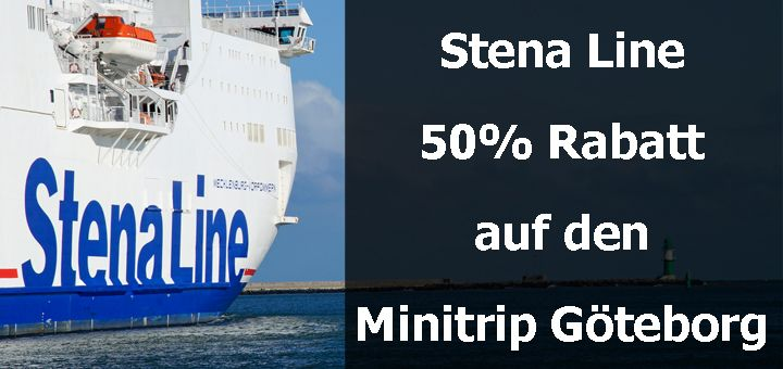 stena line 50 rabatt f r 50 stunden auf den minitrip nach g teborg. Black Bedroom Furniture Sets. Home Design Ideas