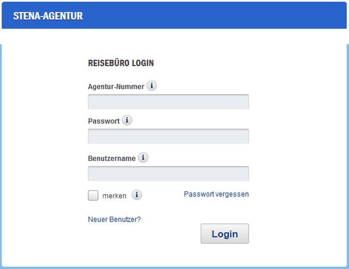 Stena Line Agentur Login