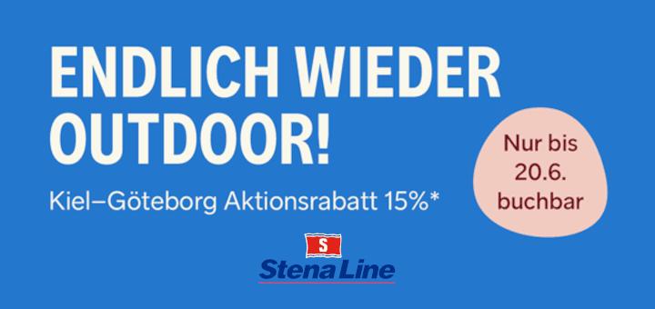 Stena Line 15% Outdoor-Rabatt