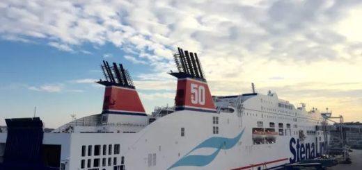 Stena Line Jubiläumsfahrt Kiel-Göteborg mit der Stena Scandinavica