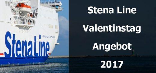 Stena Line Angebot zum Valentinstag 2017