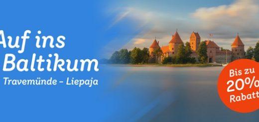 20% Rabatt bei Stena Line ins Baltikum