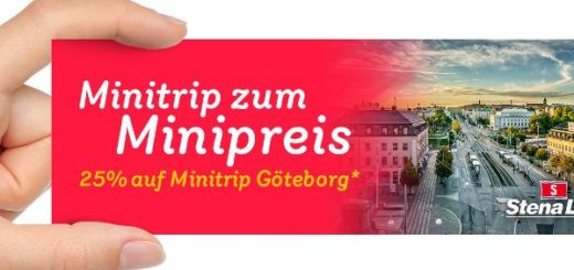 Stena Line Minitrip Göteborg ab 49 Euro pro Person