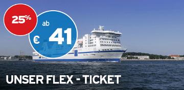 TT-Line Black Friday Flex-Ticket mit 25% Rabatt