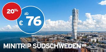 TT-Black Week Angebot Minitrip Südschweden