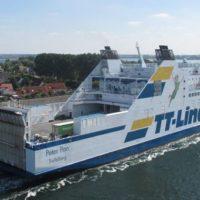 Mit der TT-Line Fähre Peter Pan von Rostock nach Trelleborg reisen.