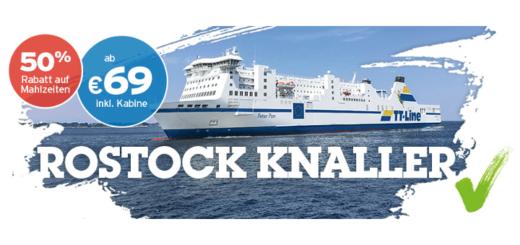 TT-Line Knaller Angebote ab Rostock