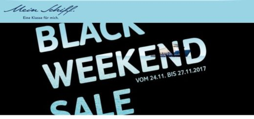 TUI Cruises Black Friday Angebote 2017