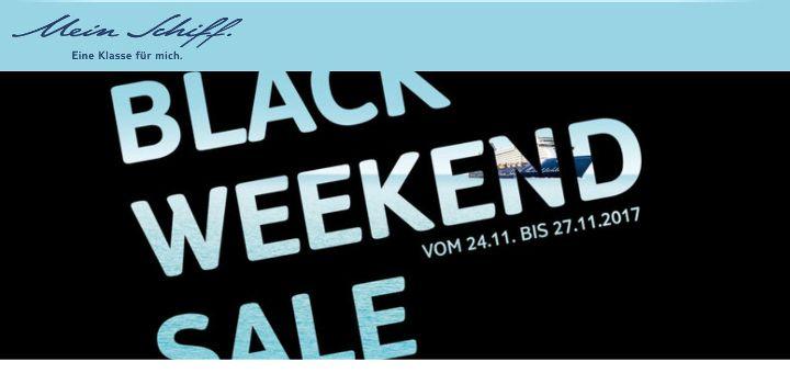 TUI Cruises Black Friday Angebote 2017